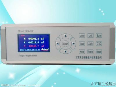 BLD-630High precision 3-D fluxgate meter
