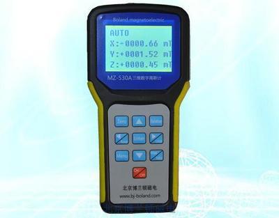 MZ-530A 3-D digital Gauss meter(0.1Gs)